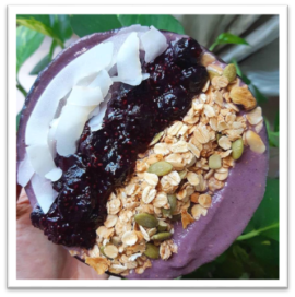 beautiful acai bowl toppings