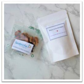 custom messages snacks sg