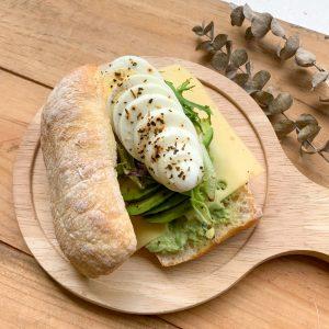 Avocado Ciabatta Sandwich